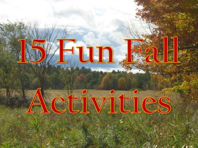 15 fun fall activities