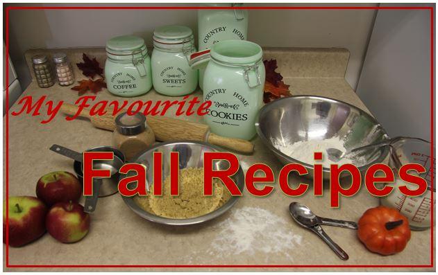 my favourite fall recipes