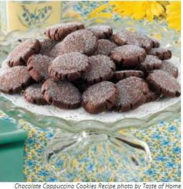 chocolate cappucion cookies