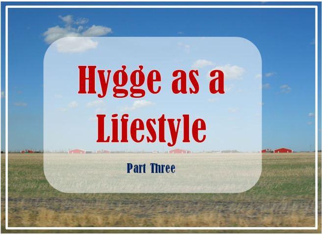 hygge as a lifestyle