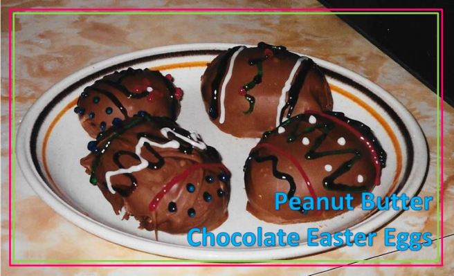 peanut butter chocolate easter eggs